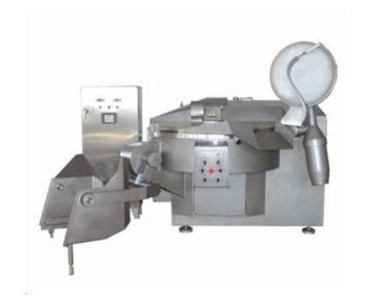 Машина за Сечење / Мелење Месо за Колбаси 125L 60-70Kg Per Time